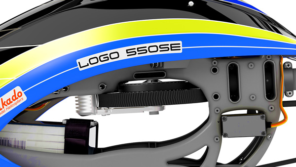 LOGO 550 SE V2 VBar NEO/Scorpion/YGE Combo
